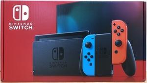 ●【未使用品】任天堂◆ニンテンドースイッチ 本体◆Nintendo Switch Joy-Con(L) ネオンブルー/(R) ネオンレッド◆⑰