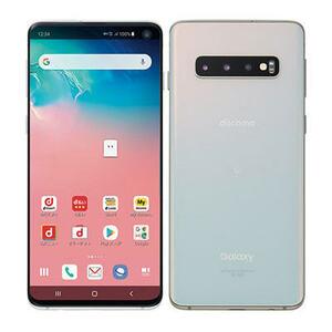 未使用 SIMロック解除済み 元docomo SC-03L Samsung Galaxy S10 プリズムホワイト 制限なし 送料無料 /YZX8176