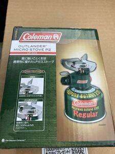 コールマン シングルバーナー マイクロストーブ PZ 新品 未使用