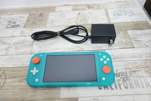 美品 任天堂 Nintendo Switch Lite ニンテンドースイッチ ライト HDH-001 ターコイズ