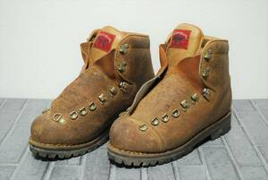 BYSON BRAND バイソンブランド vibram REG MARK montagna イタリア製 サイズ表記なし/検索 登山靴 ヴィンテージ【09123】