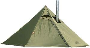 テント 1-2人用 薪ストーブ用煙突穴あり