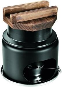 陶器製 釜めし コンロ付セット 1合炊き