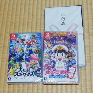 大乱闘スマッシュブラザーズ&桃太郎電鉄  Nintendo Switch