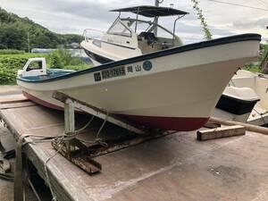 ヤマハW-19 和船船体