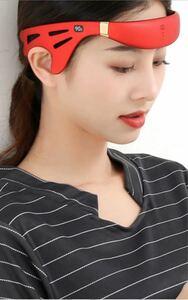 最新改良版,頭の睡眠補助器はストレス緩和USB充電静音携帯便利小型家