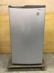 SHARP ノンフロン 1ドアタイプ 冷蔵庫 75L[SJ-H8W] グレー 新生活 一人暮らし 単身者 家電 奈良発 直接引き取り可能