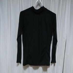 インナーシャツ 長袖 黒 Sサイズ 2枚セット