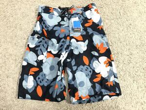 新品 パタゴニア Boy's Boardie Shorts M 柄 サーフパンツ PATAGONIA ボーイスボーディショーツ