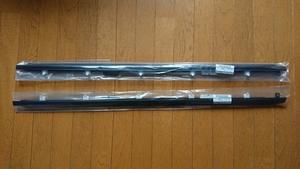 ◎シルビア S15 ドア ベルト モール 水切りモール 左右どちらか 片側分 1本 選択して下さい   純正 新品