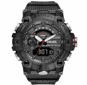 ◆ ミリタリー ウォッチ メンズ スポーツ 防水 腕時計 ストップウォッチ アラーム ledライト デジタル腕時計 メンズスポーツ時計 1742
