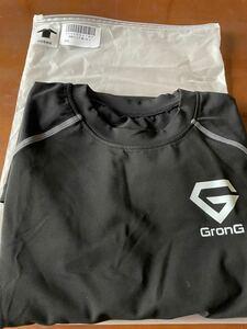 GronG(グロング) コンプレッションウェア アンダーシャツ スポーツシャツ メンズ 長袖