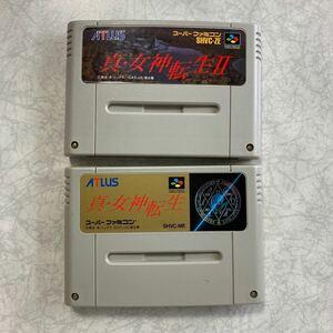 真女神転生 II セット スーパーファミコン