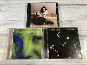 即決 W0724 ヴァネッサ・パラディ(Vanessa Paradis) CD アルバム 3枚セット|Live|Bliss|Vanessa Paradis|