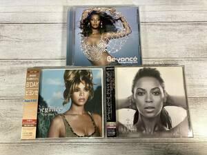 即決 W0751 ビヨンセ(Beyonce) CD アルバム 3枚セット|Dangerously in Love|B'Day|I Am... Sasha Fierce|