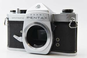 露出計 動作 【 良品 】 ペンタックス 腐食無し Asahi PENTAX SPOTMATIC SP  フィルムカメラ MF #244