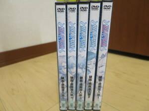 レンタル落ち DVD BLEACH  ブリーチ 破面・虚圏潜入篇 全5巻
