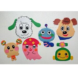 キャラクター 飾り 壁面