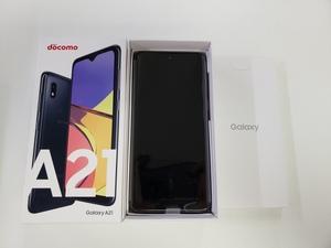 新品 未使用品 docomo SAMSUNG Galaxy A21 SC-42A ブラック 利用制限○ SIMロック解除済