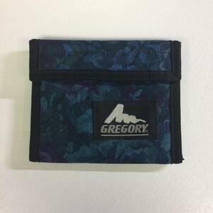 グレゴリー USA製 旧タグ 花柄 ブルータペストリー スポーツウォレット 財布