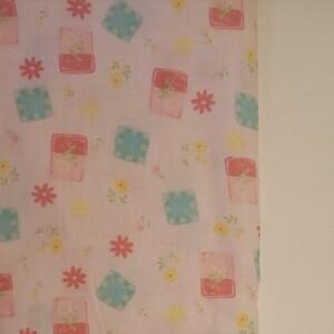 YUWA シャルマンコレクション Wガーゼ ピンク系 生地巾約108cm×約50cm