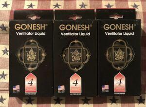 人気2位の香り ガーネッシュ GONESH NO.4 カーエアコン送風口取付用芳香剤 エアフレッシュナー ヴェンティレーターリキッド 芳香剤 車内