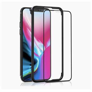 iPhone 11 Pro/iPhone XS/X ガラスフィルム 用 液晶保護強化ガラス【ガイド枠付き/全面保護/ケースに干渉しない】アイフォン