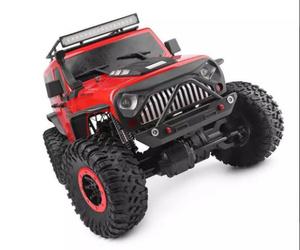 2.4G 4WD RC カーロッククローラー登山車両1個! W/Led ライトラジコン RTR モデル高速トラックオフロードトラック おもちゃ