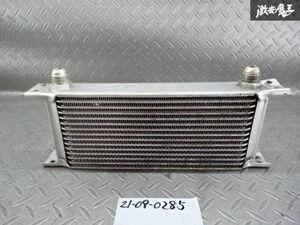 社外 オイルクーラー 15段 汎用 シルビア 180SX スカイライン GT-R ハチロク 86 BRZ AE86 シビック インテグラ RX-8 棚2H22