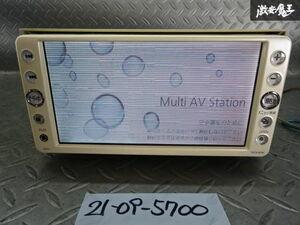 トヨタ純正 SDナビ メモリーナビ CD ワンセグ ワイドDIN NSCN-W59C 08545-00S71 CQ-XS0901CJ 棚2W
