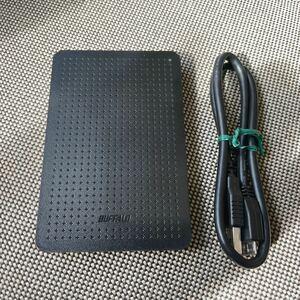 バッファロー ポータブルHDD 500GB