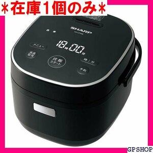 在庫1個のみ シャープ 炊飯器 マイコン 3合 パン調理機能 ブラック KS-CF05B-B 7