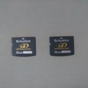 XDピクチャーカード 16MB 2枚組