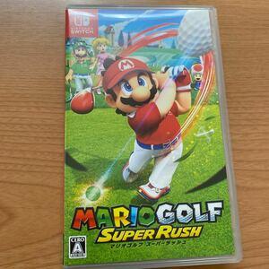 マリオゴルフ スーパーラッシュ Switchソフト