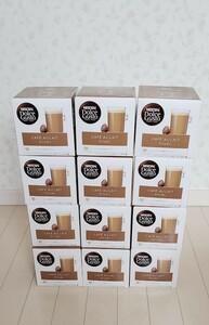ドルチェグスト 12箱セット まとめ売り カプセル カフェオレ ネスカフェNDG 新品未使用 未開封 コーヒー ノンシュガー