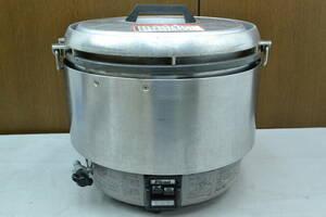 i277■リンナイ Rinnai■ガス炊飯器 6.0L 3升炊き 都市ガス■業務用炊飯器