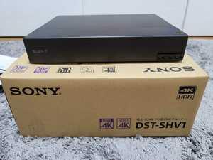 SONY 地上・BS4K・110度CS4Kチューナー DST-SHV1 美品