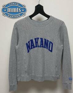 mmts マミタス BEAMS スウェット トレーナー NAKANO 中野 XS 日本製