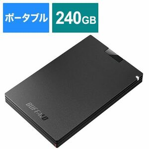 新品未使用 ポータブルSSD SSD-PG240U3-BA BUFFALO