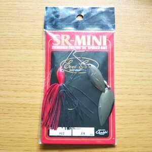 エバーグリーン SRミニ ダブルウイローリーフ ミラーフィニッシュブレード 黒 3/8oz カラー:#12 SR-MINI DW