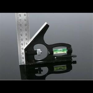 ○人気最安○300ミリメートル(12 ')直角定規調節可能なエンジニア組み合わせをお試しくださいセット水平ルーラー角用木工ツール