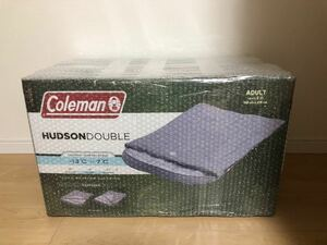新品^_^コールマン ハドソンダブル 2人用寝袋 最低使用温度 -13℃