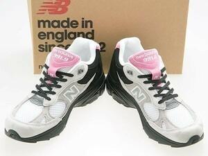 新品/NEW BALANCE/ニューバランス/M9919FR/MADE IN ENGLAND/英国製/GREY/BLACK/PINK/グレー/ブラック/ピンク/ワイズD/26.0cm