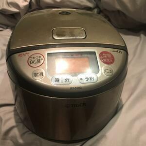 炊飯器(タイガーIH 炊飯ジャー)