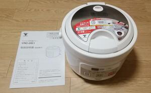 YAMAZEN YRC-051 マイコン式炊飯ジャー 3合炊き 取説付