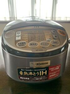 象印圧力IH炊飯器(ZOJIRUSHI NP-NV10型)