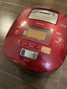 【ジャンク品匿名配送】TOSHIBA 炊飯器 5.5合炊 RC-10VSF(R)