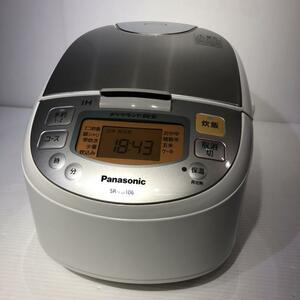 #5606 パナソニック 5.5合 炊飯器 IH式 SR-FD106-W