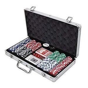 【vaps_2】本格派ポーカーセット アルミケース入り チップ300枚付き 送込