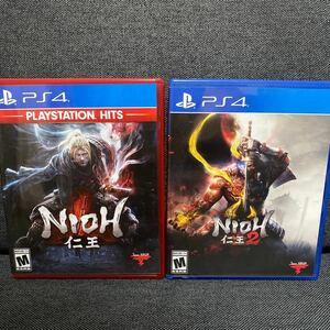 『PS4』仁王(海外版)+仁王2(海外版) 2本セット